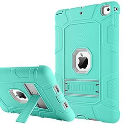 iPad 2017 iPad 9.7 inch Case, BENTOBEN Kickstand Full-body 3