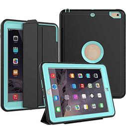 New iPad 2017/2018 Case, SEYMAC Smart Case  with Auto Sleep
