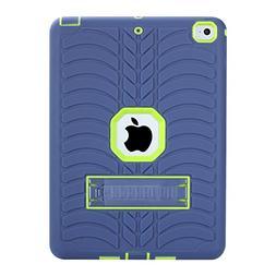 Beimu New iPad 2017 iPad 9.7 inch Case, Kickstand Feature Ru