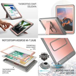 YOUMAKER Case for New iPad 9.7 2018/2017, Heavy Duty Kicksta