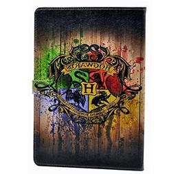 iPad 2017 iPad 9.7 inch Case Hogwarts Magic School Badge Wat