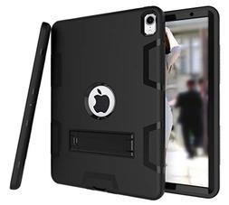 iPad Pro 11 Inch 2018 Case, ZERMU Heavy Duty Kickstand Shock