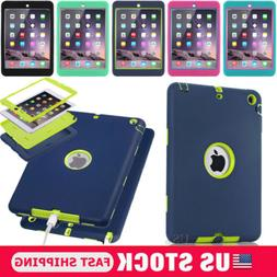 For Apple iPad 234 Mini 234 Air1/2 Pro9.7 Shockproof Armor H