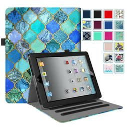 For iPad 3 A1416 or A1430 Folio Case Multi-Angle Viewing Sta