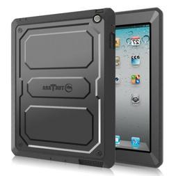 Apple iPad Back Case Cover w/ Screen Protector Shockproof De