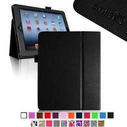 For iPad 4 / iPad 3 / iPad 2 Retina Display Folio Case Cover