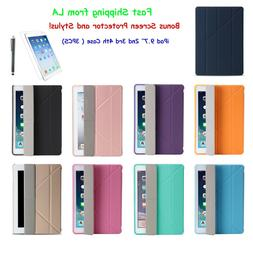 "iPad 4th Generation Case 9.7"" Ultra Origami Slim Lightweight"