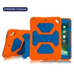 For iPad 5/6th Generation 9.7'' Defender Case Shockproof Rug