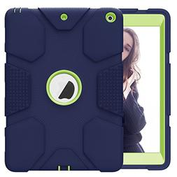Hocase iPad 9.7 2018/2017 Case Rugged Heavy Duty High-Impact