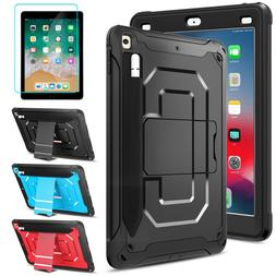 For iPad 5th/6th Gen 9.7 Shockproof Tablet Stand Case Cover