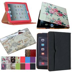 iPad 5th Generation 2017 9.7 Soft Leather Smart Cover Case A