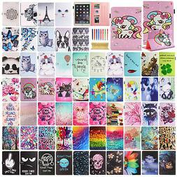 "For iPad 5th Generation 9.7"" 2017 Cute Pattern Magnetic Leat"