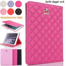 "For iPad 6th 9.7 inch 2018 10.2"" 7th Air 2/3/4 Folio Case Le"