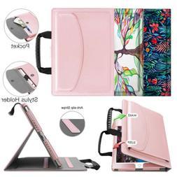 For iPad 6th Gen 9.7'' 2018 Tablet Handbag Case Multi-Angle