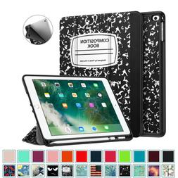 For iPad 6th Gen 9.7 inch 2018 Tablet Case Slim Cover with A