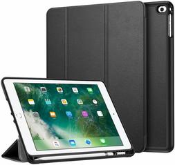 For iPad 6th Gen 9.7 inch 2018 Tablet Case TPU Cover with Ap