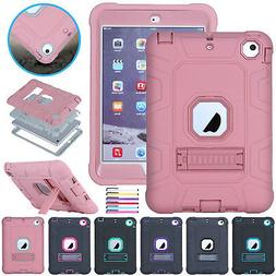 For iPad 6th Generation 9.7'' 2018 Case Shockproof Rugged Ha
