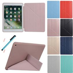 For iPad 2018/2017 6th Gen Air Pro Case Slim Leather Smart M
