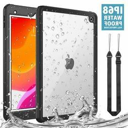 MoKo For iPad 7th Gen 10.2 2019 Waterproof Case Dirt Proof S