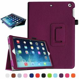 """For iPad 7th Gen 2019 10.2"""" Leather Smart Stand Case Folding"""