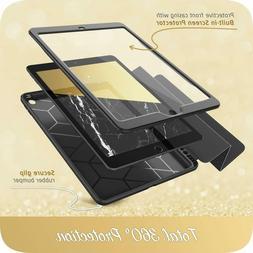 "iPad 7th Gen 2019 10.2"" i-Blason Trifold Stand Case Cover wi"