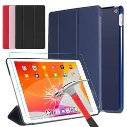 For iPad 7th Gen Generation 10.2 inch Case Cover/Tempered Gl