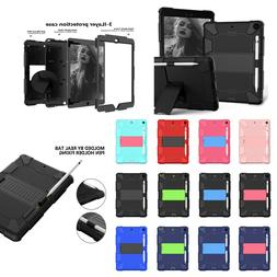 "For iPad 7th Generation 10.2"" 2019 Case Shockproof Rubber Ar"