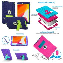 iPad 7th Generation Case iPad 10.2 Case 2019 Kids Silicone S