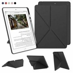DTTO iPad 7th Generation Case with Pencil Holder Flexible Se