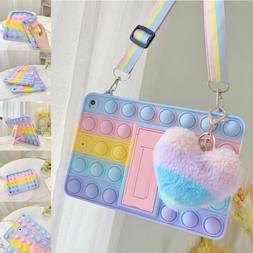 For iPad 8th 7th 6th 5th mini Air 4/2 Pop Fidget Toys Push I