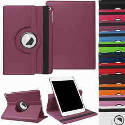 """For iPad 8th 7th Gen 10.2"""" 5th 6th 9.7"""" Leather Smart Case R"""