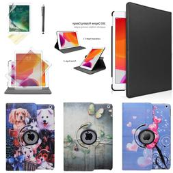 For iPad 8th 7th Generation 10.2 inch 360 Rotating PU Leathe