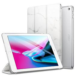 ESR Marble Trifold Smart Case for iPad 9.7 2018/2017, Lightw