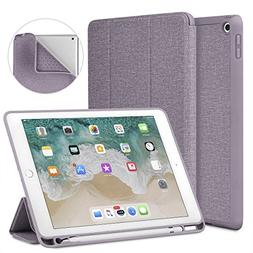 Soke New iPad 9.7 2018/2017 Case with Pencil Holder, Lightwe