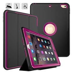 New iPad 9.7 2017/2018 case - DUNNO Heavy Duty Full Body Rug