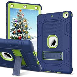 BENTOBEN iPad 9.7 2017/2018 Case Heavy Duty Full Body 3 in 1