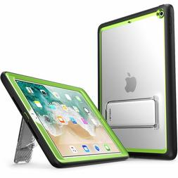 iPad 9.7 2017 2018 Case i-Blason Ares Kickstand Built-in Scr