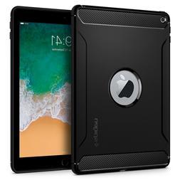 iPad 9.7 2018/2017 Case Spigen  Flexible Shockproof Carbon F