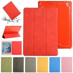 """For iPad 9.7"""" 2018 6th Air 3rd Mini 4 Pro Case Leather Smart"""