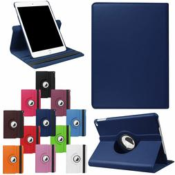 For iPad 9.7 2018 6th Gen 2017 5th 360 Rotating Leather Flip
