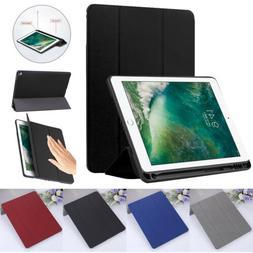 For iPad 9.7 2018 6th Mini 4 5 Pro Case Luxury Leather Flip