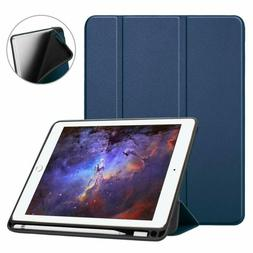 Fintie iPad 9.7 2018 Case with Built-in Apple Pencil Holder