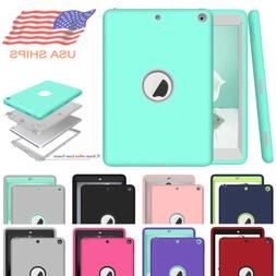 "For iPad 9.7"" 5th 6th 2017 2018 Shockproof Hard Rubber Hybri"