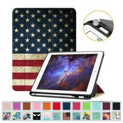 For iPad 9.7'' 6th Gen 2018 / 5th Gen 2017 Case Cover with A
