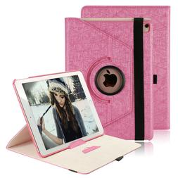 For iPad 9.7 6th Gen/2018 5th/2017 Pro Air 2/1 PU Leather Ca