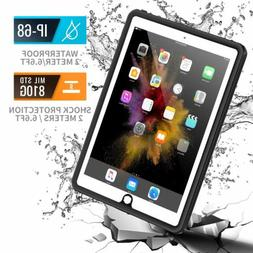 "iPad 9.7""  Case Military Grade Full-Body Rugged Screen Prote"