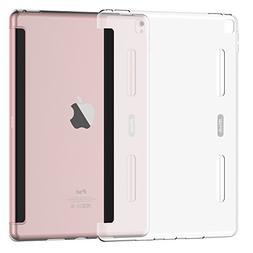 iPad Pro 9.7 Case, JEDirect Frosted Translucent Bumper Prote