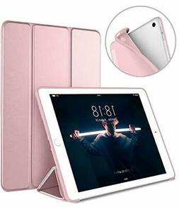 DTTO iPad 9.7 Soft Case 2018 6th Generation Case/2017 A-Rose