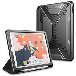 For iPad 9.7 Case 2018, SUPCASE  Trifold Folio Cover+Screen