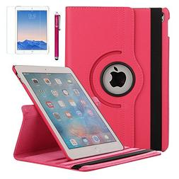 iPad Pro 9.7 Case, AiSMei Rotating Case Cover with Auto Wake